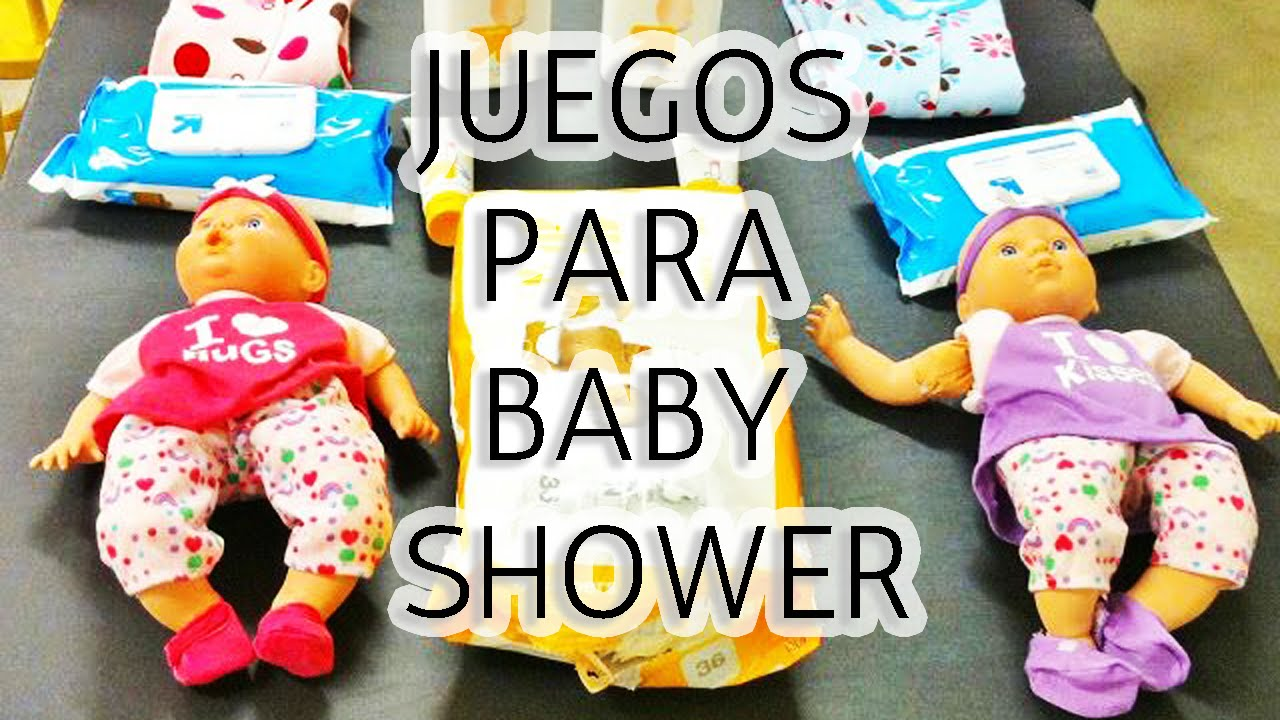 10 Juegos Para Baby Shower Muy Divertidos Hd Youtube
