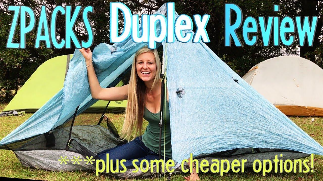 Zpacks Duplex Tent Review (plus some cheaper options!)