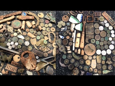 Metal Detecting Civil War Picket Post ! - YouTube