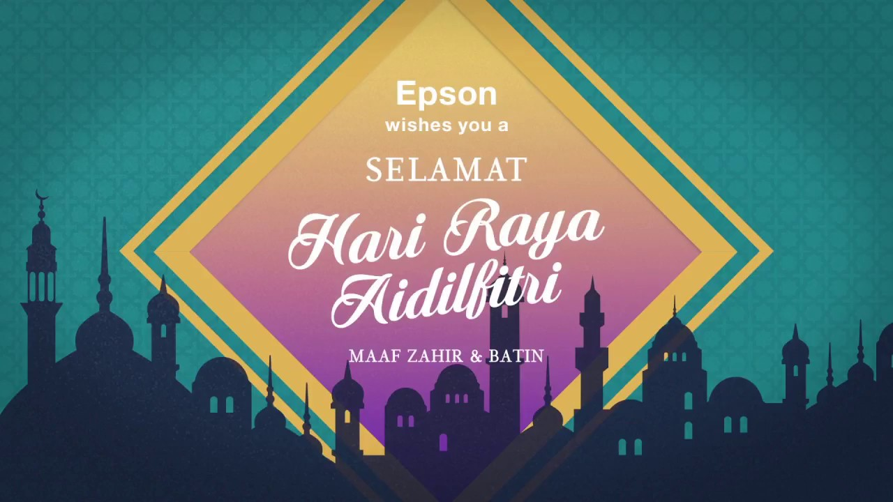 Epson Hari Raya 2017 Youtube