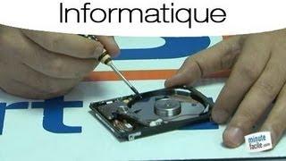 comment réparer un disque dur