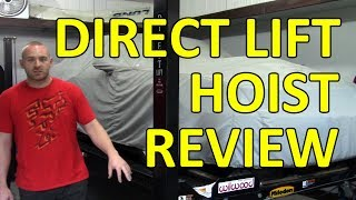 7000Lb Direct Lift 4 Post Hoist Overview
