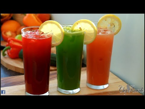 Amazing Summer Juice ( 3 In One ) | Recipes By Chef Ricardo