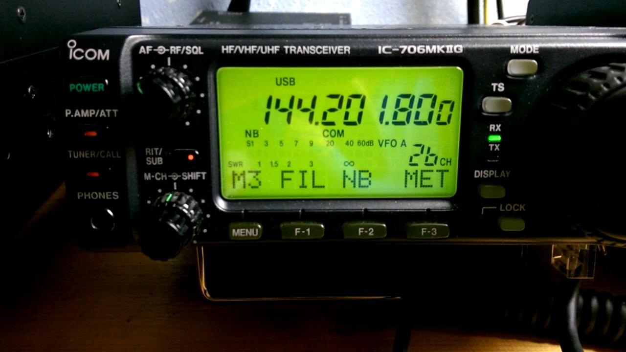 IZ5ILD - IU5HJU 1296 200 con transverter SG LAB