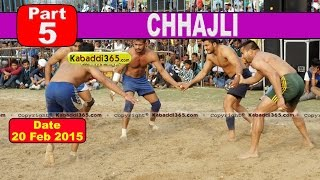 Chhajli (Sangrur) Kabaddi Tournament 20 Feb 2015  Part 5 by Kabaddi365.com