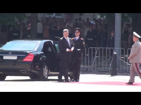 Ukraine War - Inauguration of Petro Poroshenko into a President of Ukraine