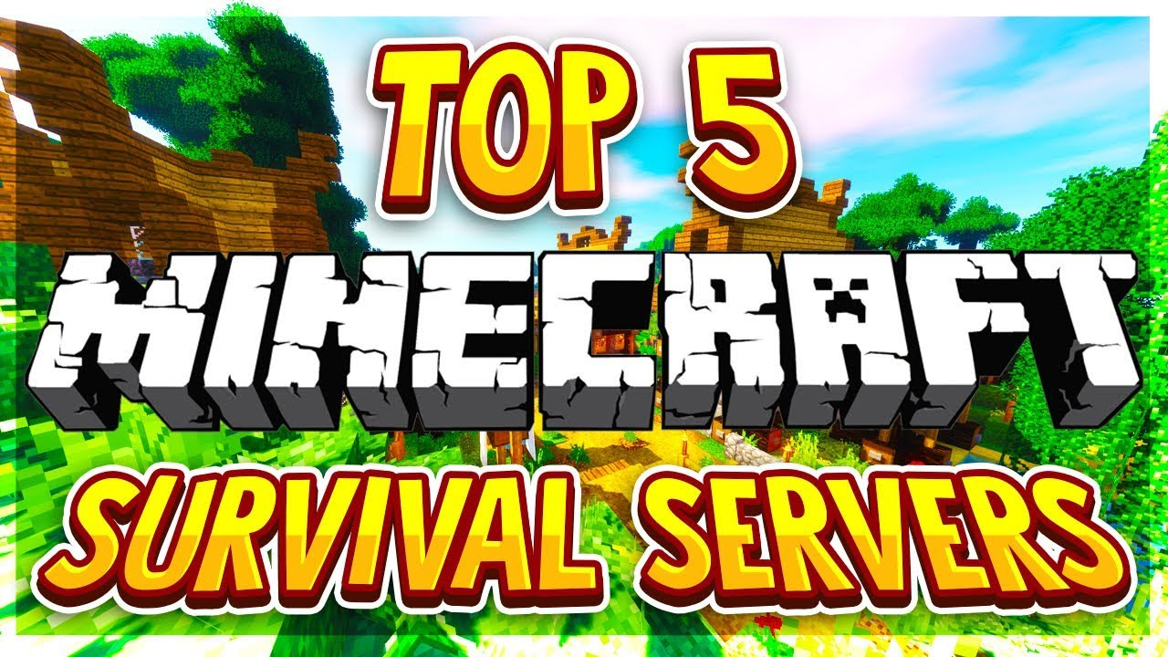 TOP 5 NO PREMIUM SURVIVAL SERVERS 1 8/1 9/1 10/1 12/1 13/1 14/1 15