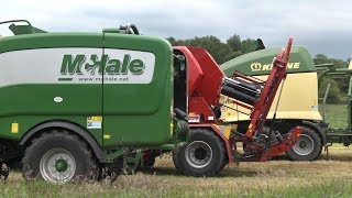 GRASSMEN TV - McHale Fusion 3 Plus Baler
