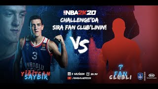 KIA İle #NBA2K20 Challenge: Yiğitcan Saybir vs. Fan Club'lı Ege Akcan