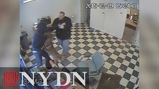 Guard Dog Attacks Would-be Robber At Gas Station