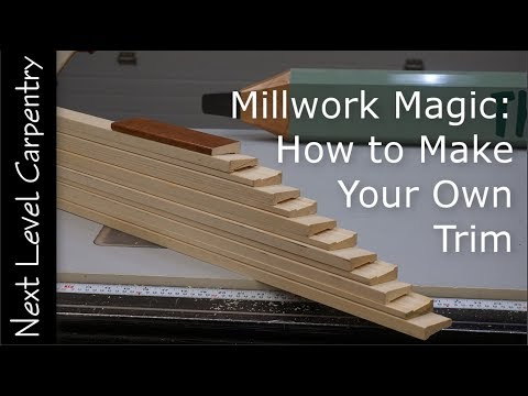 Millwork Magic: How to Make Your Own Trim