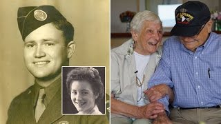 long lost love of 93 year old wwii veteran dies after reuniting 70 years later