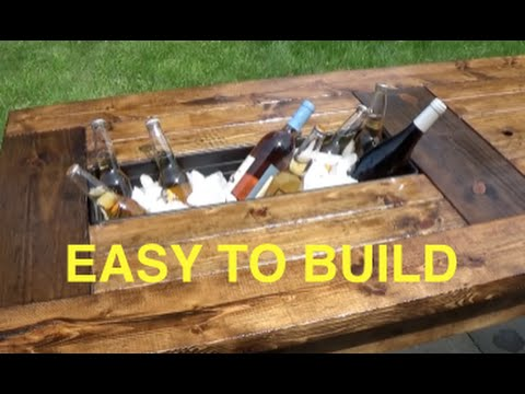 How to build a farmhouse table with built in coolers complete and how to build a farmhouse table with built in coolers complete and easy plan solutioingenieria Gallery