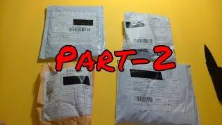 Aliexpress'ten Gelen Toplu Siparişlerim Paket Açılımı Unboxing Part-2  Yurtd