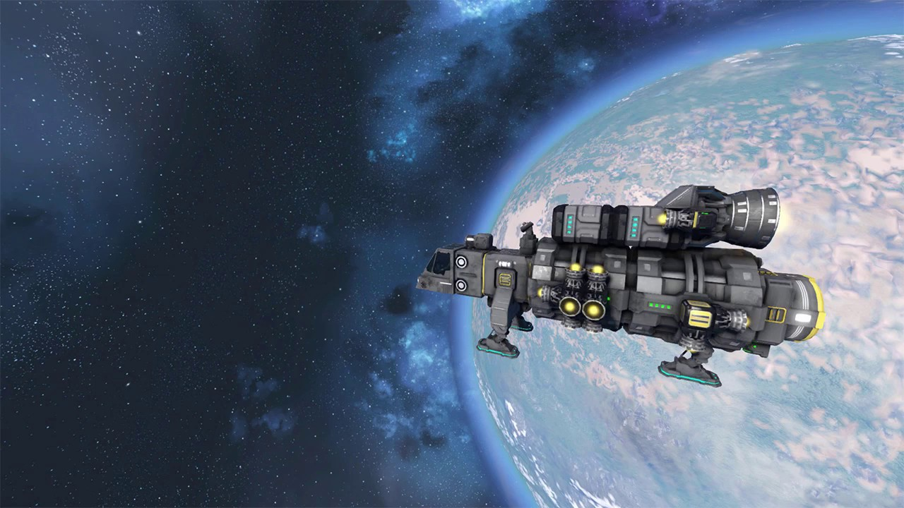 Space Engineers Vulcan Spaceship Small Cargo