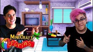 DECORANDO A NOSSA CASA (Minecraft de Férias) #10
