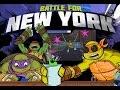 Teenage Mutant Ninja Turtles Battle For New York - Cartoon Movie Game for Kids 2015 HD TMNT
