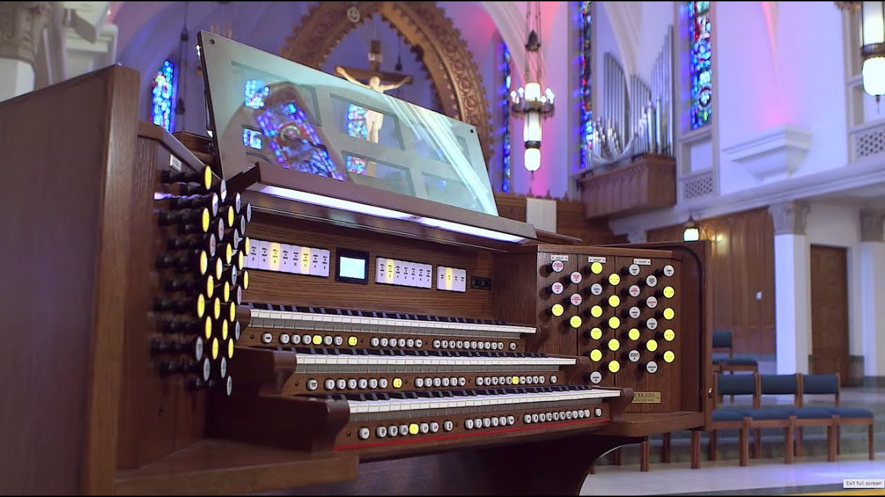 Rodgers Infinity 361 | Church Organs Los Angeles | Rodgers