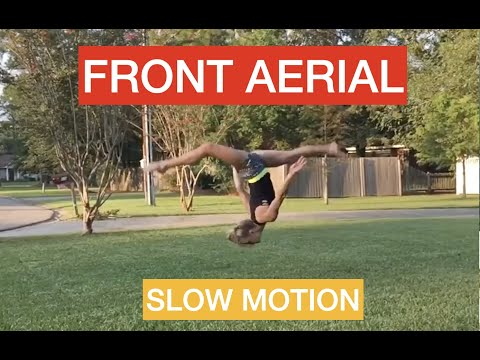 Slow Motion Front Aerial
