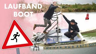 Boat with treadmill | Run over water * JESUS ​​STYLE *