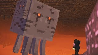 Minecraft Story Mode Season 2 Episode 3 Super Ghast Boss Fight