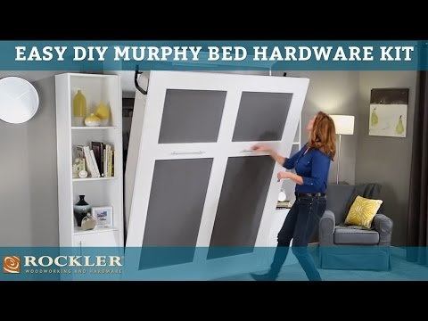 Easier-than-ever DIY Murphy Bed Hardware Kit