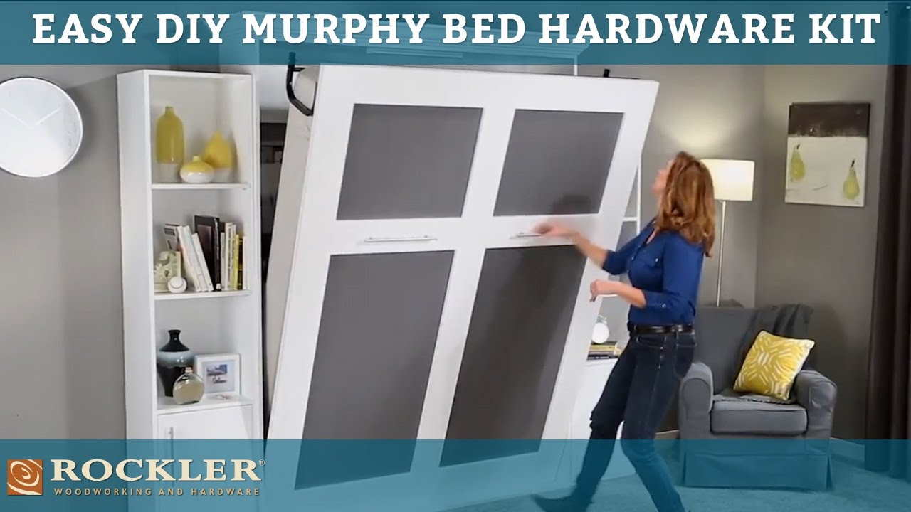 Easier than ever DIY Murphy Bed Hardware Kit   YouTube