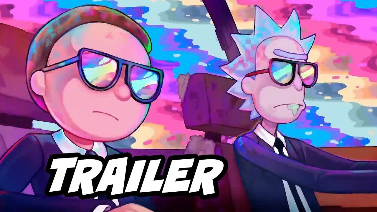 Rick and Morty Run The Jewels Music Video Trailer