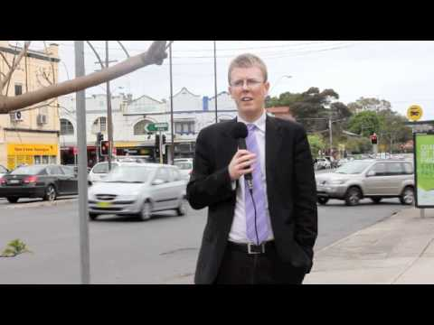 Former Randwick City Mayor talks about traffic management in Kensington