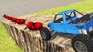 ANTS vs CAR! MINI MOD! | BeamNG.Drive Funny Moments