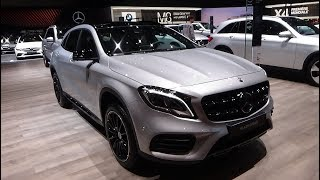 2018 Mercedes-Benz GLA 200 d 4Matic - Exterior and Interior - Geneva Motor Show 2018
