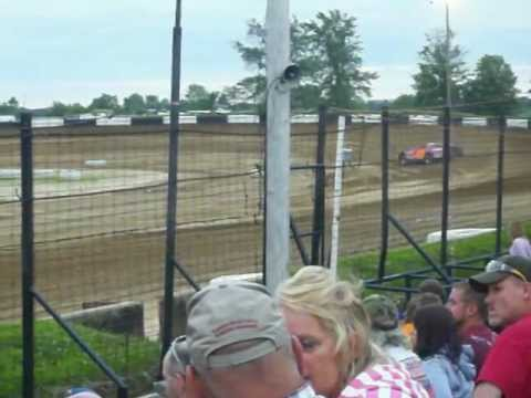 Shannon Babb Qualifying at Fayette County Speedway