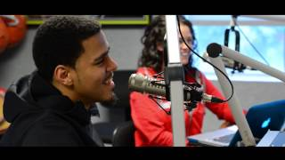 "J. Cole Talks about ""Born Sinner"" and Amanda Bynes Tweets to Him!!"