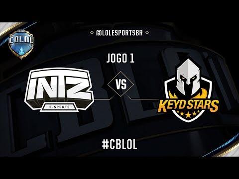 INTZ x Keyd Stars (Jogo 1 - Semana 7 - Dia 2) - CBLoL 2017
