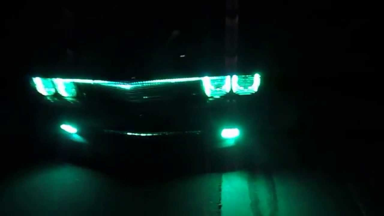 2014 Dodge Challenger color change Halo\u0027s billet grill(cup holds and door pockets and door Handles) & 2014 Dodge Challenger color change Halo\u0027s billet grill(cup holds ...