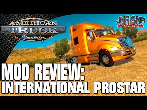 International Prostar | AMERICAN TRUCK SIMULATOR MOD REVIEW | ATS MOD REVIEW