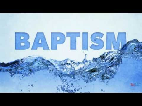 Simple Theology Baptism
