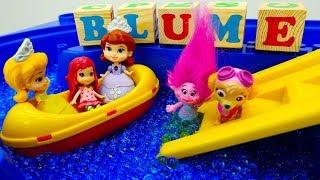 Spaß mit Play Doh Knete. Smoothie für Prinzessinnen.