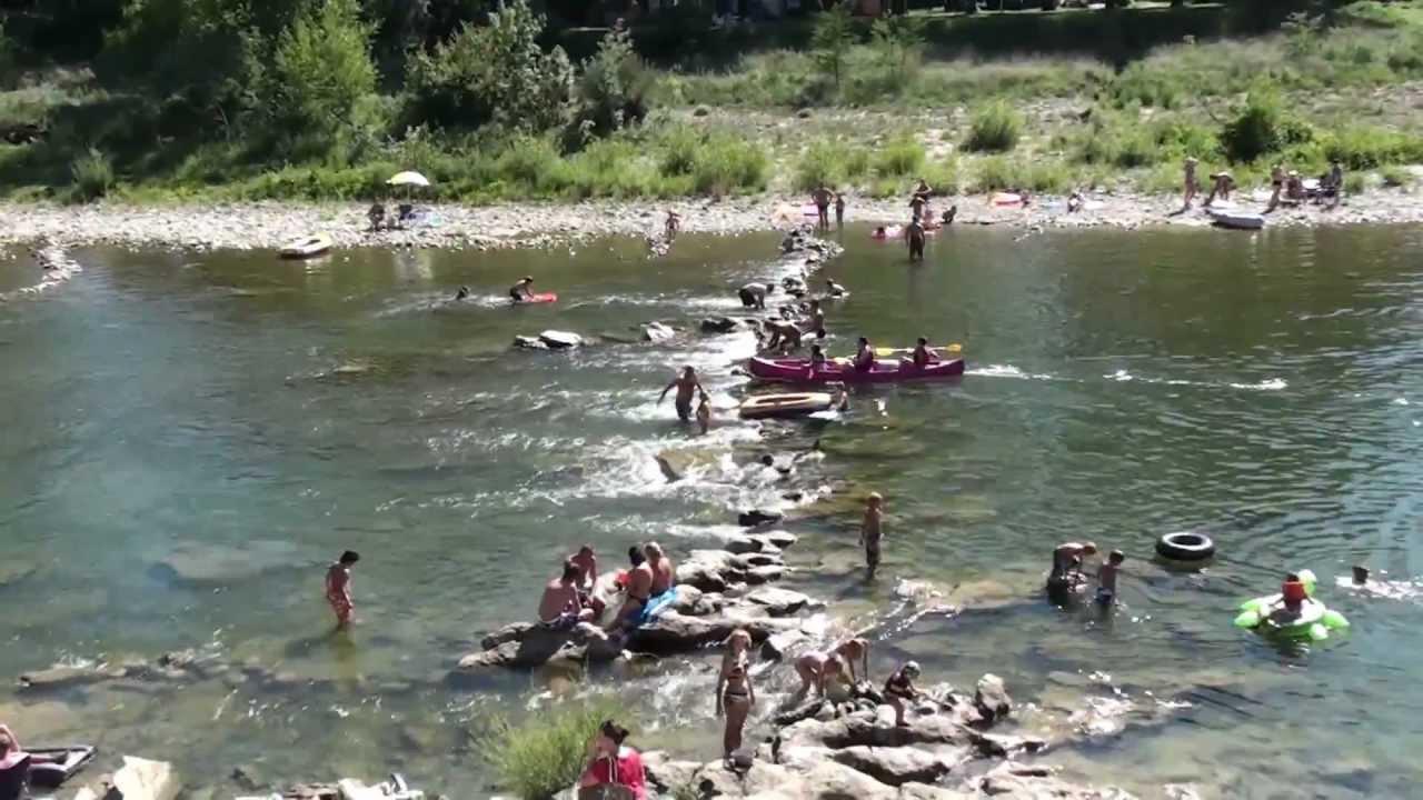 Ard che vallon pont d 39 arc camping natur parc l 39 ard chois - Camping vallon pont d arc piscine ...