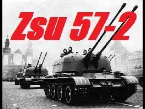 ZSU-57-2 Best russian tank