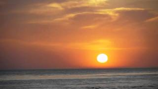 Meditation Relaxation: Sunset with Ocean Waves