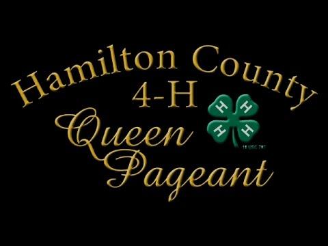 2016 Hamilton County 4-H Fair Queen Pageant