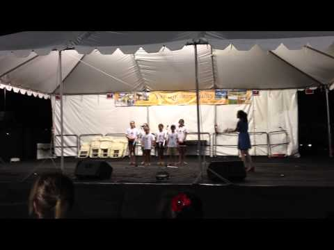 ABC Music Store and Academy Choir at the 2013 rmore 4th Of July Fireworks Celebration