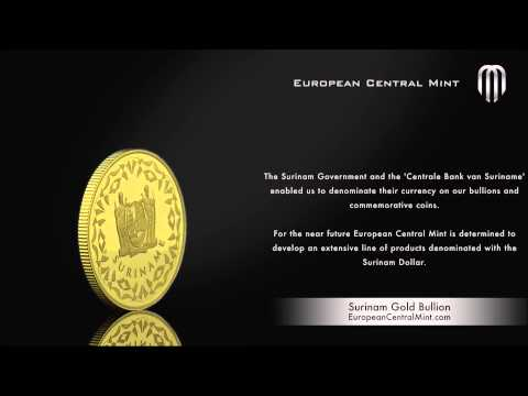 ECM Surinam Gold Bullion 100 SRD