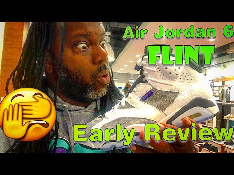 Air Jordan 6 LTR Flight Nostalgia (Flint) Early Review! Yeezys Sitting! Mall Vlog!