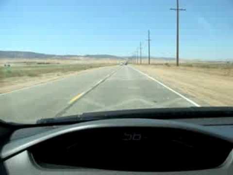 Musical Road, Lancaster, CA. HONDA CIVIC