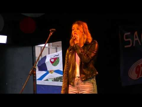 Chelsea Gautreau sings'I Wanna Dance With Somebody'by Whitney Houston for 80's week of Idol 2016