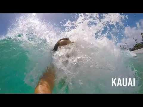 Surfing with GoPro Studio Flux