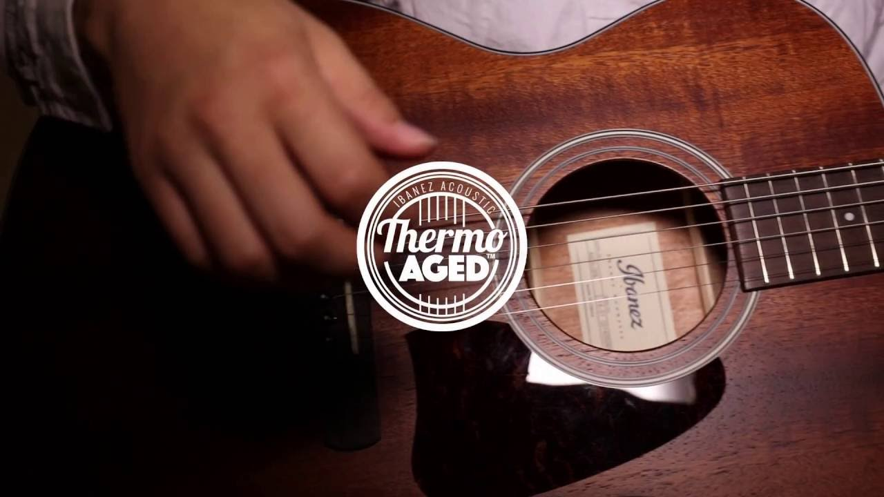 Ibanez Acoustic Artwood Vintage Thermo AgedTM AVC9OPN