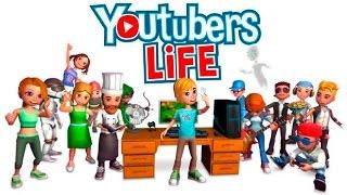Моё первое видео! Просто играю в Youtubers life
